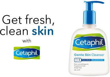 Бесплатное средство для очистки кожи Cetaphil