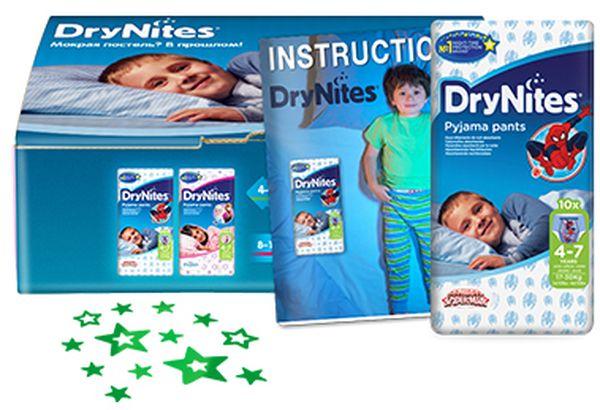 трусики-подгузники DryNites