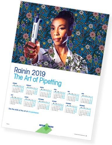 Календарь от Rainin
