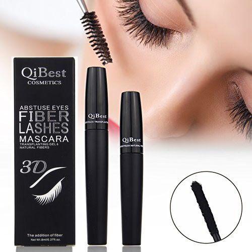 тушь для ресниц QiBest Fibre