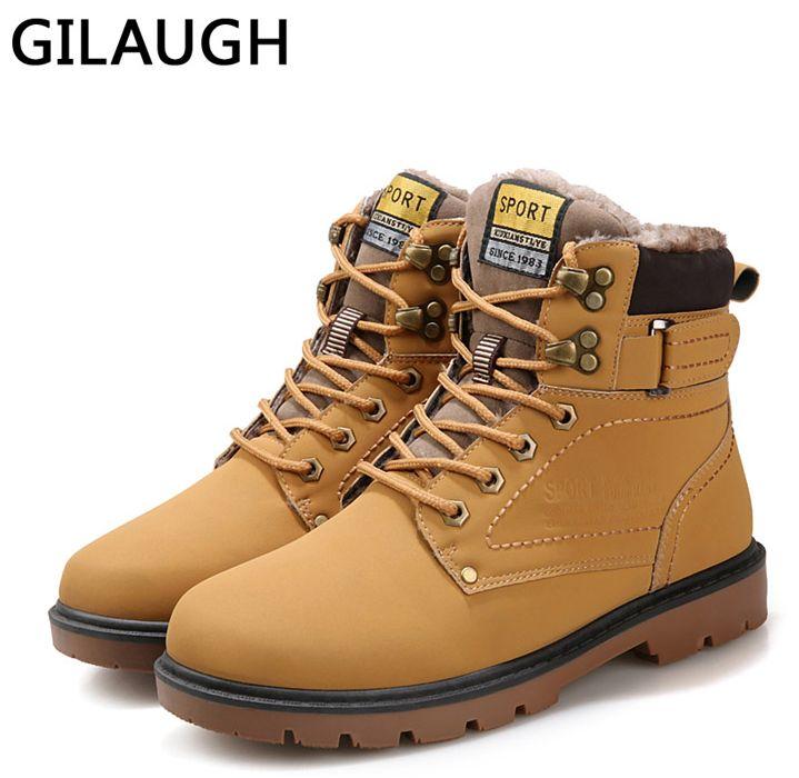 Мужские зимние ботинки размер 39-46