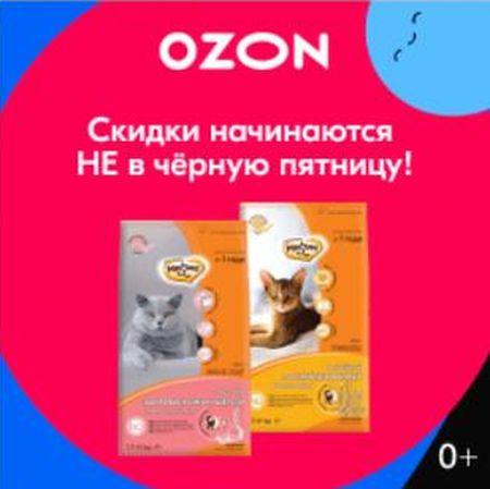 """OZON - Скидки начинаются не в """"Черную Пятницу"""""""