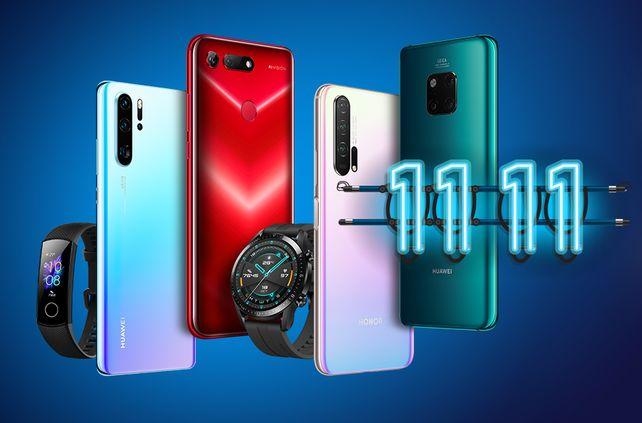Распродажа 11.11 в официальном магазине Huawei (Honor)