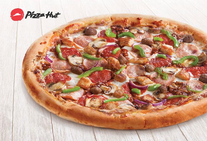 Пицца в Подарок в Pizzahut до 31 Декабря по Промокоду
